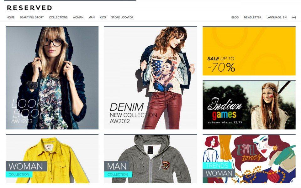 Reserved Website Screenshot