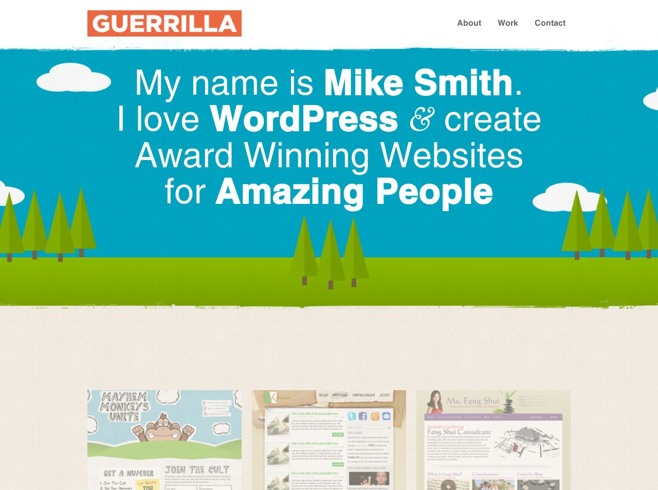 Guerrilla Website