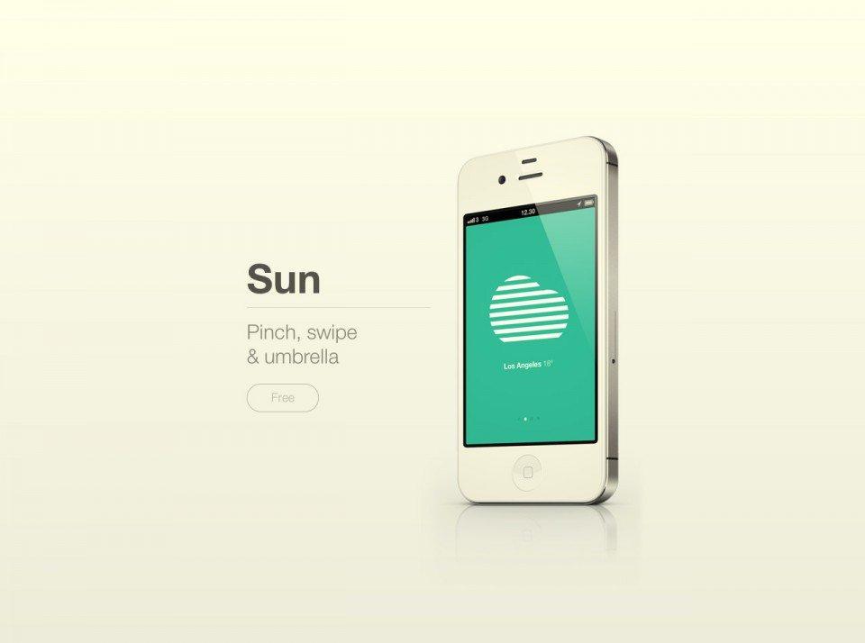 Sun App Website