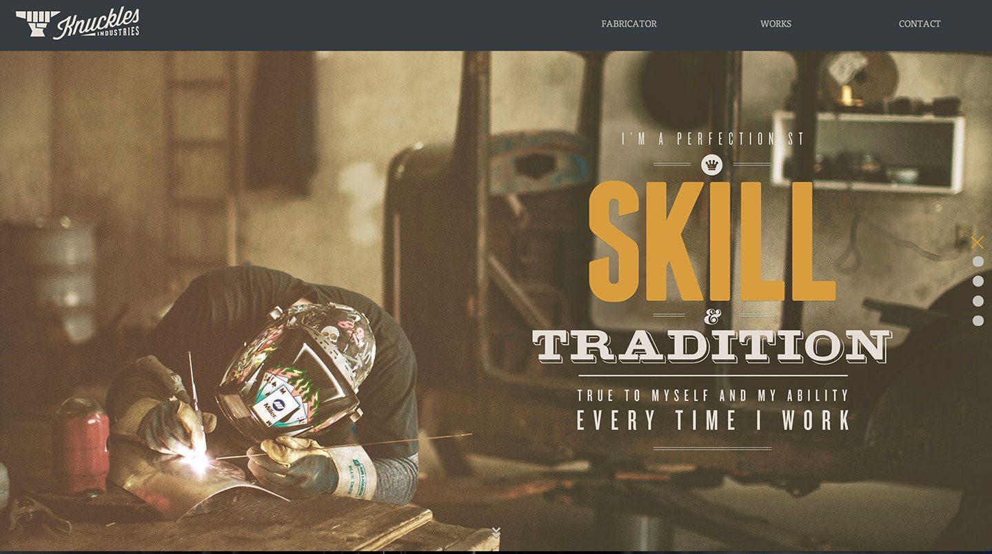 knucklesindustries website